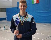 Giosuè Testa il bronzo nella Coppa Italia nazionale