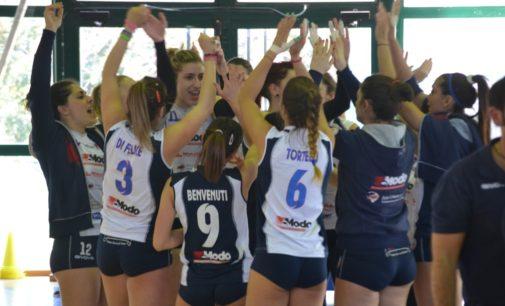 Modo Volley Marino (B2/f), la Nicolasio: «Finalmente salvezza, ora pensiamo al futuro»