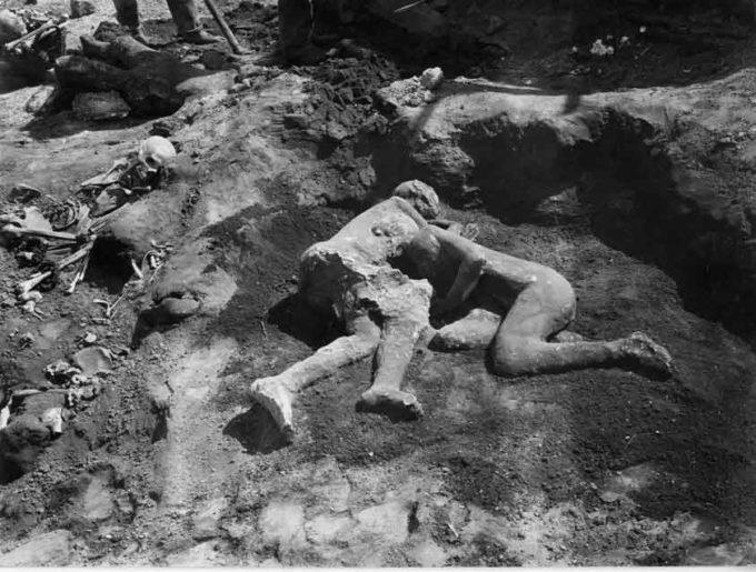 Pompei – I calchi del criptoportico
