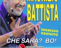 Raf e Maurizio Battista, due fuoriclasse per San Lanno