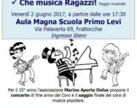 Il Coro di Marino Aperta Onlus per la Festa della Musica a Frattocchie