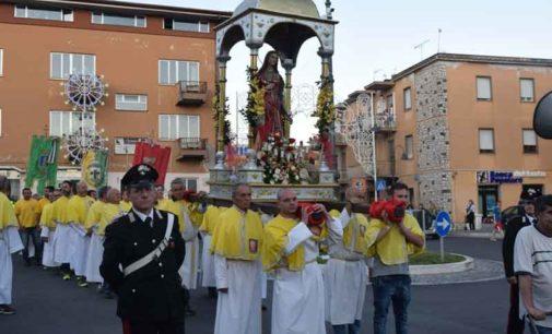 La Comunità di Lariano ha festeggiato la Santa Patrona Eurosia