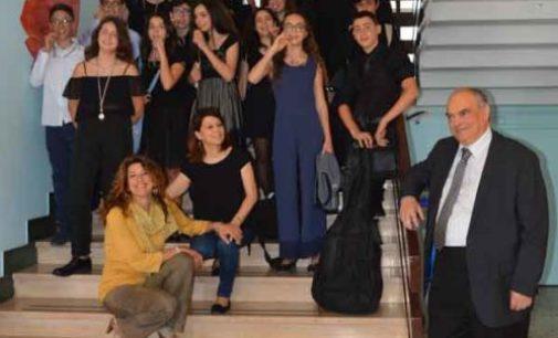 """Gli alunni dell'I.C. Frascati 1 premiati al concorso nazionale """"Fiumicino Classica"""""""