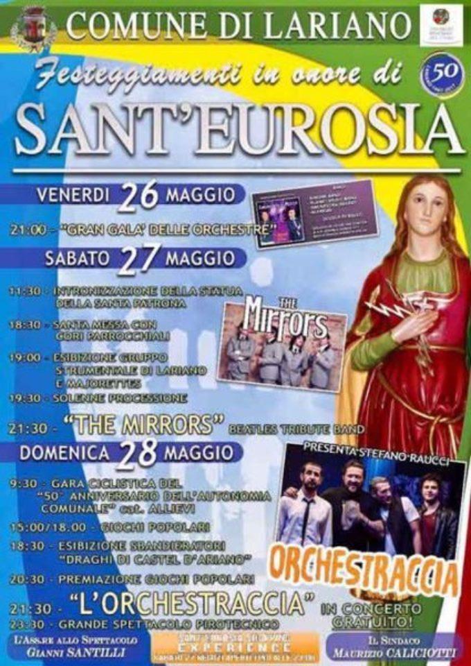 Lariano – Festa della Santa Patrona Eurosia