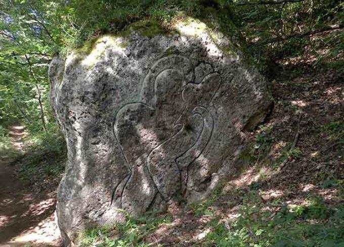 Art for ecology Calcata (Vt)