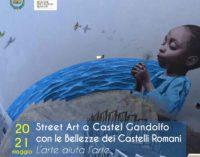 Il 20 e 21 maggio StreetArt a Castel Gandolfo