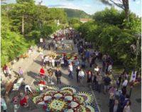 Cervaro, la città che si tinge di mille colori con Infiorata
