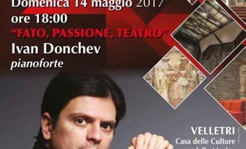 """Velletri – """"Fato, passione, teatro"""" Ivan Donchev, pianoforte"""