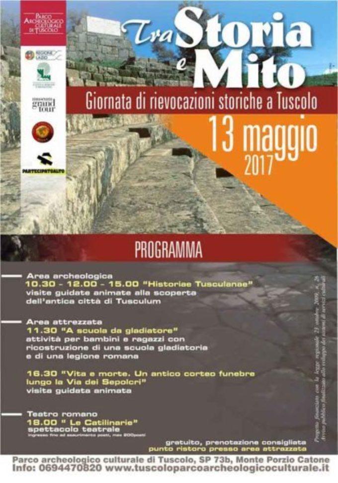 A Tuscolo due appuntamenti tra archeologia e storia