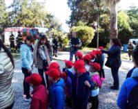 Tanti piccoli pompieri a Villa Desideri