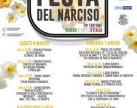 """Rocca Priora – Domenica 7 Maggio  al via la 78ª """"Festa del Narciso"""""""