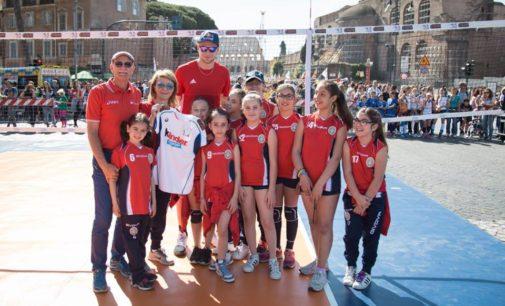 Polisportiva Borghesiana, Iacono porta il settore minivolley ai Fori: «E' sempre emozionante»