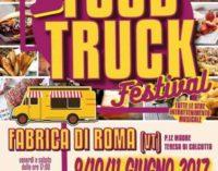 Fabrica di Roma capitale del Food Truck Festival