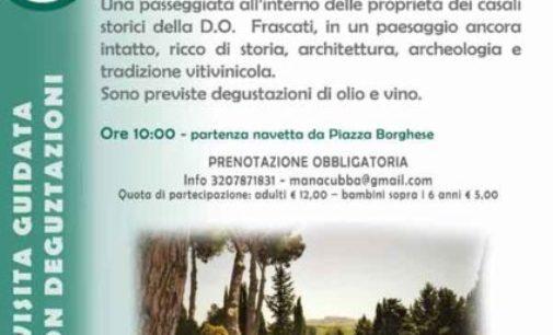 """Un Brindisi tra i casali del """"Frascati"""""""