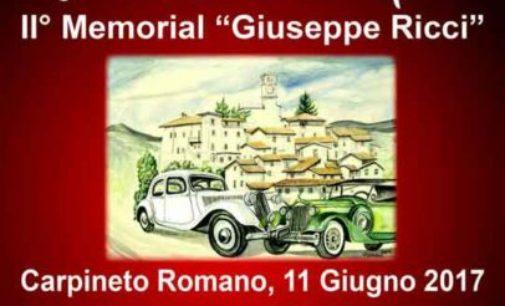 """Carpineto R.no, II° Memorial d'auto d'epoca """"Giuseppe Ricci"""""""