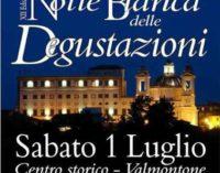 Valmontone – Sabato 1 luglio la XII Notte bianca delle degustazioni