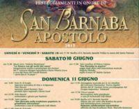 Marino – La Festa in onore di San Barnaba Apostolo