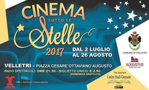 """Velletri – """"Cinema sotto le stelle"""" Dal 2 luglio al 26 agosto"""