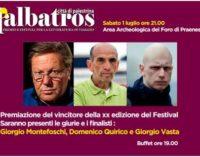 Proclamazione vincitore Premio l'albatros città di Palestrina