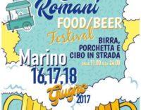 Al via Castelli Romani Food Fest Marino 2017