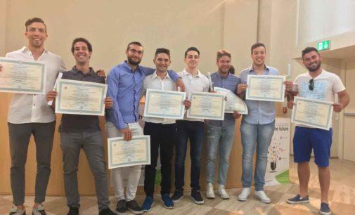 Il progetto di uno studente ITS 'Energia e Ambiente illumina a led Torrita di Siena
