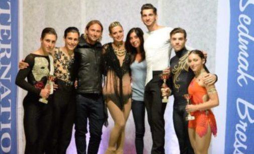 Asd Frascati Skating Club (pattinaggio), show a Trieste: Lucaroni, fratelli Neri e Coltella sul podio