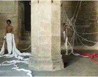 Città di Castello – SILENTI performance e installazione tessile THOMAS DE FALCO