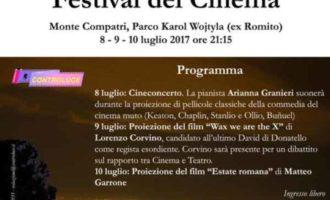 Monte Compatri – Primo 'Festival del Cinema' e nona 'Rassegna dei Castelli Romani di Teatro Amatoriale'