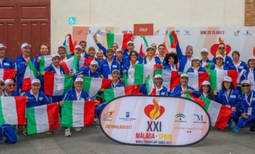 I trapiantati italiani conquistano 8 medaglie