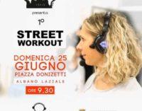 Albano Laziale, il 25 giugno il primo Street Work Out