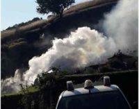 Incendio a Rocca Priora