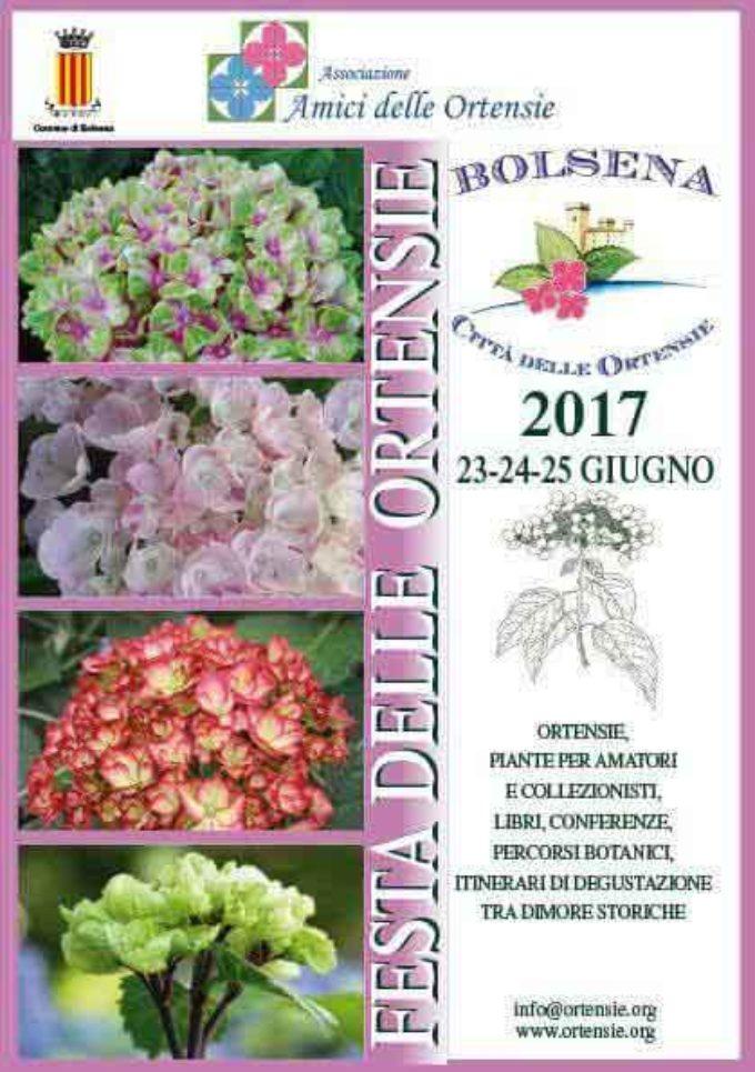 Profumi e colori per la Festa delle Ortensie al lago di Bolsena