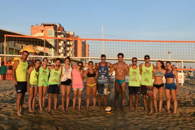 Volley Estate, finali del 4×4 misto a Rosati, Pazzaglia, Garzi e De Cesaris. Domenica altro torneo