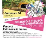 "Cerveteri – Per ""Notti d'estate""  Passeggiate musicali"