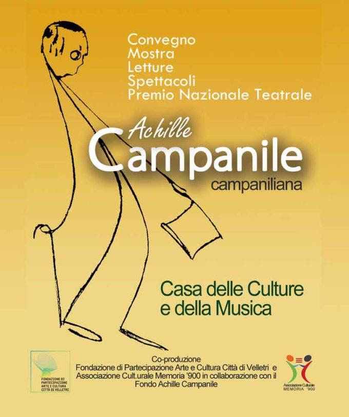 Velletri, Achille Campanile alla ribalta nazionale con una rassegna di teatro e letteratura