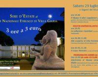 """Sere d'estate al Museo – """"I segreti del Museo"""""""