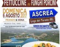 Ascrea –  Sagra delle fettuccine ai funghi porcini