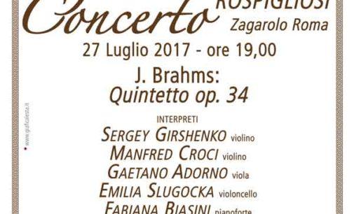 """Zagarolo – """"Gran Concerto a Palazzo"""""""