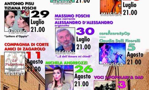 Zagarolo – Riparte la stagione teatrale estiva a Palazzo Rospigliosi