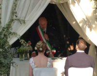 Marino – Celebrato Il Primo Matrimonio Civile a Villa Pocci