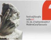 Festival filosofia di Modena, 200 appuntamenti in tre giorni sulle arti