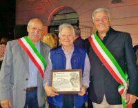 Colonna, il Sindaco Cappellini ha consegnato la cittadinanza onoraria ad Aldo Onorati