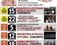 """Festival """"Di Voci e Di Suoni"""" nel centro storico di Caprarola"""