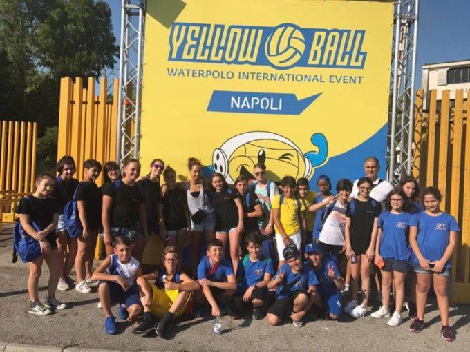 """3T Frascati Sporting Village (pallanuoto), Tagliaferri: «Allo """"Yellow Ball"""" esperienza fantastica»"""