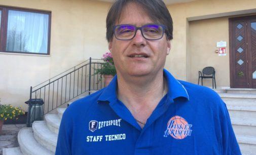 Club Basket Frascati, Monetti: «Martiri neo tecnico della C Gold maschile, Tabbanella per le donne»