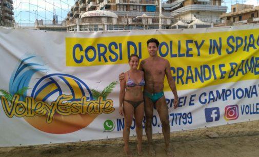 Volley Estate: trionfo di Simone Rosati ed Emanuela Cerullo nel 2×2 misto giallo