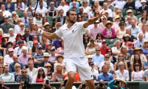 Il campione HEAD Marin Cilic ha giocato il suo miglior tennis