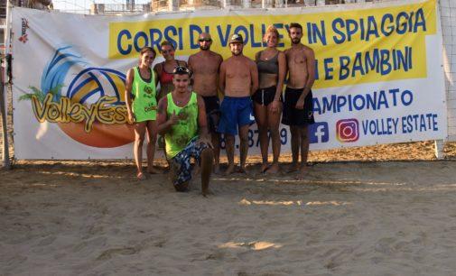 Volley Estate, nel 2×2 misto a squadre la spuntano Foti, Di Maggio, Rilatti e Greco