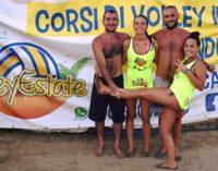 Volley Estate, chiusura col botto: a Sergio Sabbatini e Alice Greco il 2×2 misto giallo