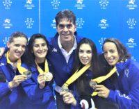 Frascati Scherma, ancora medaglie: De Costanzo e Palumbo oro a squadre alle Universiadi